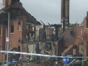 Fire damage property claim