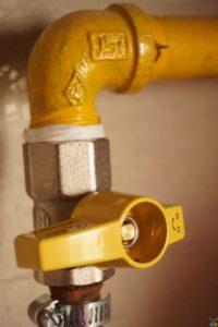 Water pipe shutoff