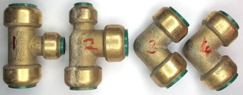 Leaking Tectite Plumbing Fittings